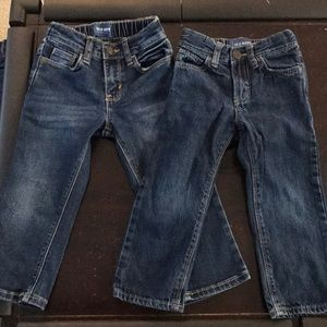 Old Navy straight leg blue jeans, 2T